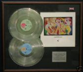 FRANKIE GOES TO HOLLYWOOD -Dble LP Platinum disc/cover